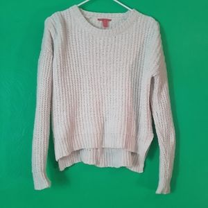 Chelsea & Violet Off White Knitted Sweater